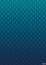Komar Heritage Edition 1, HX4-018 Silence geometrikus minta színátmenetes digitális nyomat