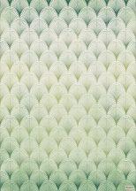 Komar Heritage Edition 1, HX4-020 Écailles geometrikus minta digitális nyomat