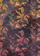 Komar Heritage Edition 1, HX4-031 Orient Violet virágos organikus díszítőminta digitális nyomat