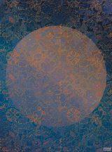 Komar Heritage Edition 1, HX4-032 La Lune stilizált Hold díszítőminta digitális nyomat
