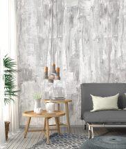 Behang Expresse Timeless INK7162 PAINTED Natur Rusztikus festett fal szürke árnyalatok fehér szürkéslila falpanel