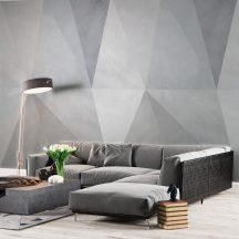 """Behang Expresse Timeless INK7178 SOLNA NEUTRAL Geometrikus design geometria """"skandinávul"""" szürke és szürkéskék árnyalatok falpanel"""