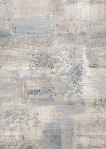 Behang Expresse Esbjerg INK7501 LE MARAIS Patchwork levélminta fehér kék szürke szines falpanel