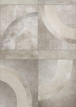 Behang Expresse Esbjerg INK7511 JONEN Nagyformátumú geometrikus minta bézs szürke szürkésbézs aranyló barna falpanel