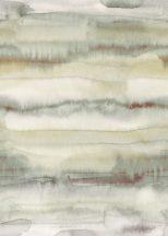 Behang Expresse Esbjerg INK7516 GUÉRANDE Vintage nagyléptékű márvány jellegű mintázat fehér szürke zöld rozsdabarna/bordó  falpanel