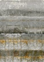 Behang Expresse Esbjerg INK7518 Vintage betonmintázat szürke zöldes szürke rozsdabarna antracit digitális panel