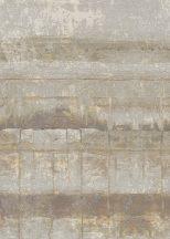 Behang Expresse Esbjerg INK7519 LOVER EAST SIDE Vintage betonmintázat bézs sárga szürke fehér fekete falpanel