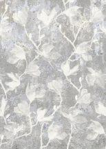 Behang Expresse Floral Utopia INK7574 MAGNOLIA WALLS Natur magnólia betonfalon futtatva szürke lila szürkéslila fehér falpanel