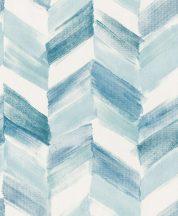 """Grandeco Inspiration Wall IW2103  akvarell ecsetvonásokkal kialakított """"nyíl"""" minta fehér kék türkiz tapéta"""