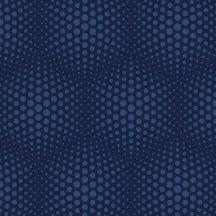 """Ugepa Galactik J50601 Geometrikus 3D """"Vasarely"""" minta kék sötétkék árnyalatok tapéta"""