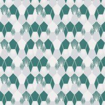 Caselio Jungle JUN100017707 grafikus design zöld fehér szürke tapéta