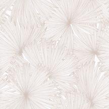Caselio Jungle JUN100042129 natur kókuszpláma levélzete krém bézs világosbarna tapéta