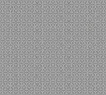 Ugepa Hexagone L42419  grafikus geometrikus szürke ezüst  tapéta