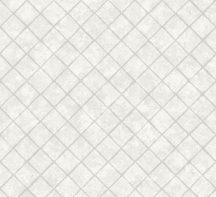 Ugepa Hexagone L44900 grafikus rombuszmozaik 3D fehér szürke tapéta