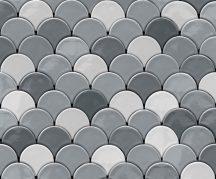 Ugepa Hexagone L59109  geometrikus 3D fehér szürke ezüst tapéta
