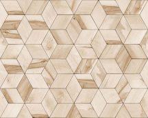 Ugepa Hexagone L59207  geometrikus 3D bézs ecru tapéta