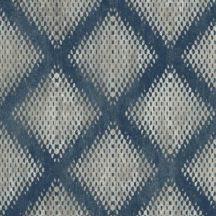 Ugepa Hexagone L60001  grafikus geometrikus 3D kék szürke ezüst fekete tapéta
