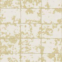 Ugepa Hexagone L62600 natur csempelapok krém krémfehér arany tapéta