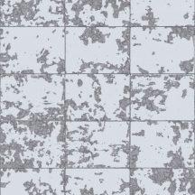Ugepa Hexagone L62609  natur csempelapok szürke ezüst tapéta