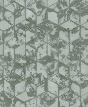 Ugepa Reflets L75404 Geometrikus 3D kockák halmaza szürkészöld zöld árnyalatok tapéta