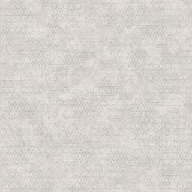 Ugepa Reflets L75807 Geometrikus kis hatszögek mintarajzolata bézs szürkésbézs ezüst tapéta