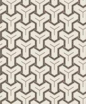 Ugepa ONYX M26207 Geometrikus Grafikus Absztrakt minta krém bézs barna fekete ezüst tapéta