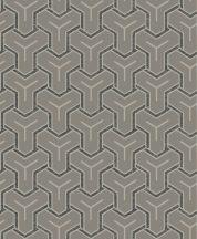 Ugepa ONYX M26208 Geometrikus Grafikus Absztrakt minta szürke szürkésbarna fekete  tapéta