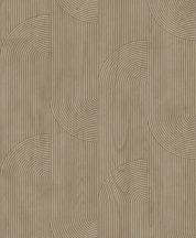 Ugepa ONYX M31608 Geometrikus Grafikus texturált minta barna ezüst tapéta