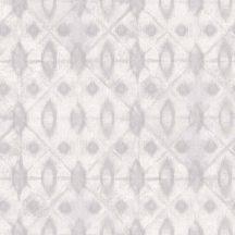 Grandeco MYRIAD MY3001 Klasszikus batik díszítőminta fehér szürke tapéta