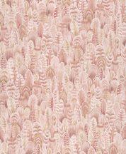 Grandeco OPUS OS3108  Natur szines tollak krém bézs rózsaszín tapéta
