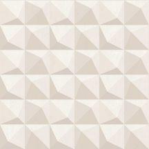 Decoprint Urban Concrete UC21330 Geometrikus három és négyszögek krém bézs barna halvány rózsaszín tapéta