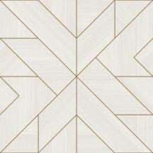 Decoprint Urban Concrete UC21350 geometrikus díszítőminta krém krémszürke bézs bronz tapéta