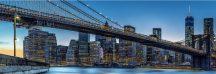 Wizard + Genius WG863 Blue Hour over New York vliesposzter