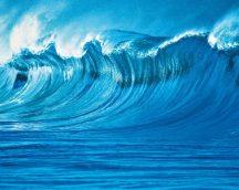 Wizard + Genius WG902 The Wave Óriáshullám vliesposzter