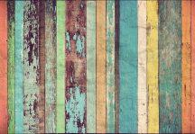 Wizard + Genius WG966 Colored Wooden Wall szines deszkafal óriás vliesposzter