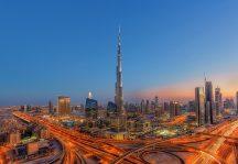 Wizard + Genius WG973 Burj Kalifah Dubai óriás vliesposzter
