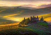 Wizard + Genius WG978 Toscana varázslatos toszkán táj óriás vliesposzter