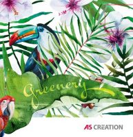 As-Creation Greenery 2022 vliesposzter/digitális nyomat