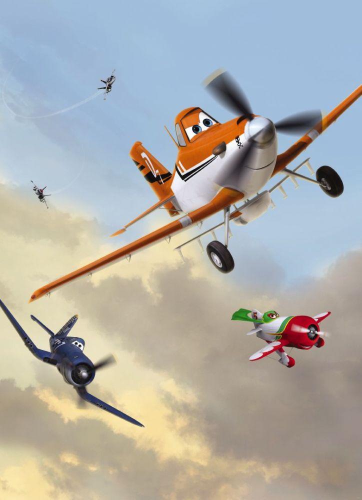 Komar Planes Dusty & Friends 4-452 Disney poszter