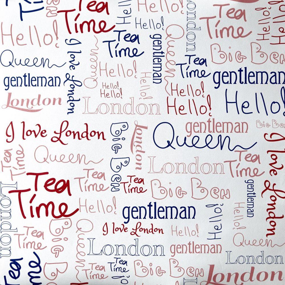 Caselio OH LA LA 66228039 Wording London tapéta