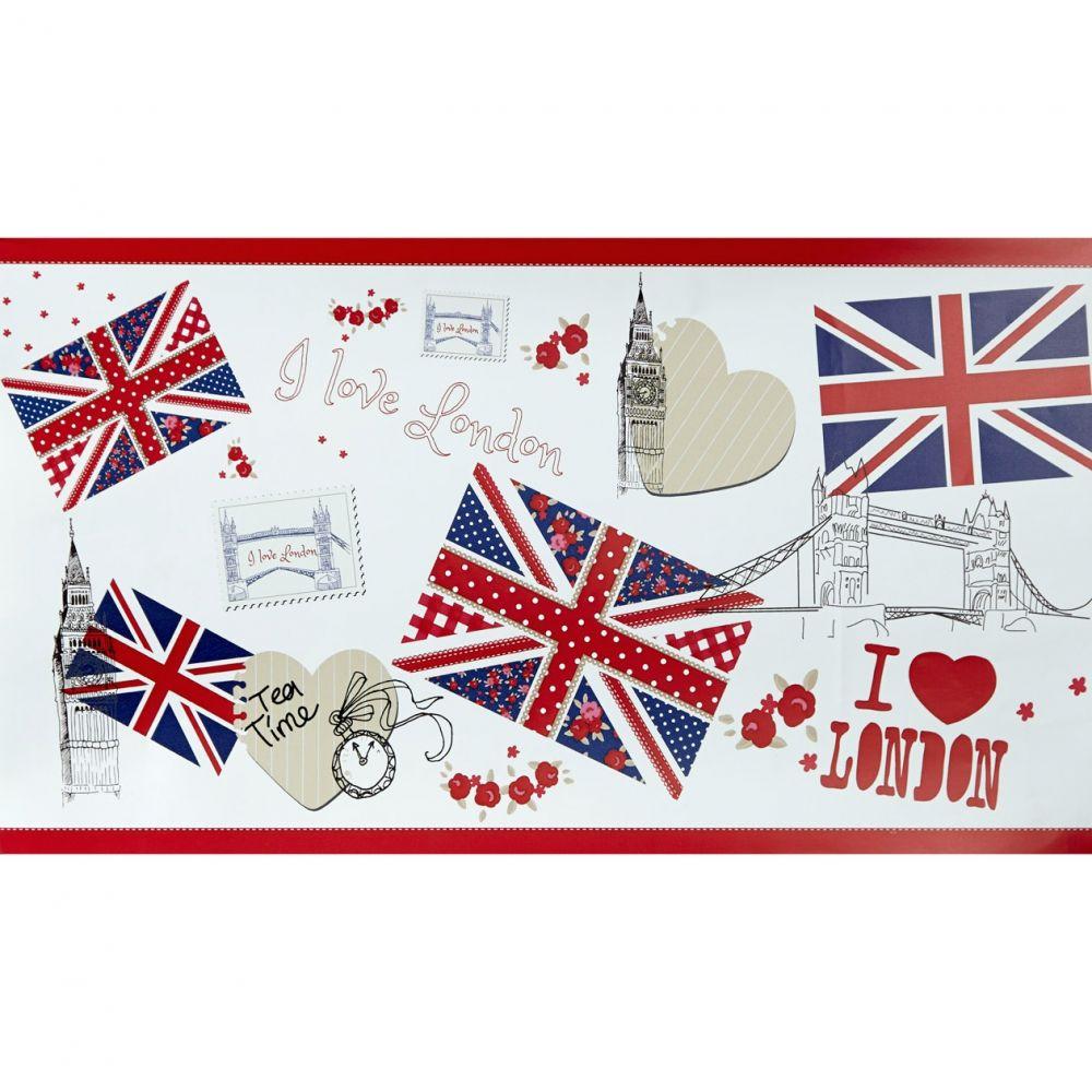 Caselio OH LA LA 66238088 My Little London bordűr