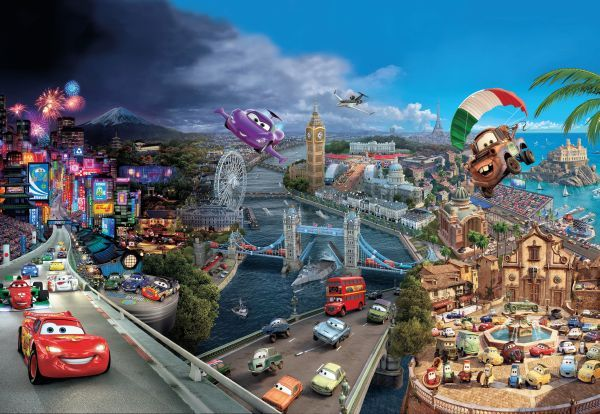 Cars World 8-400  Disney poszter