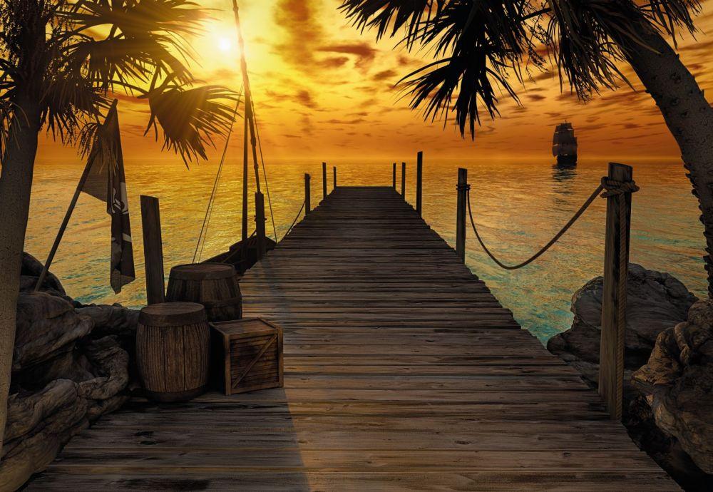 Komar Treasure Island 8-918 poszter
