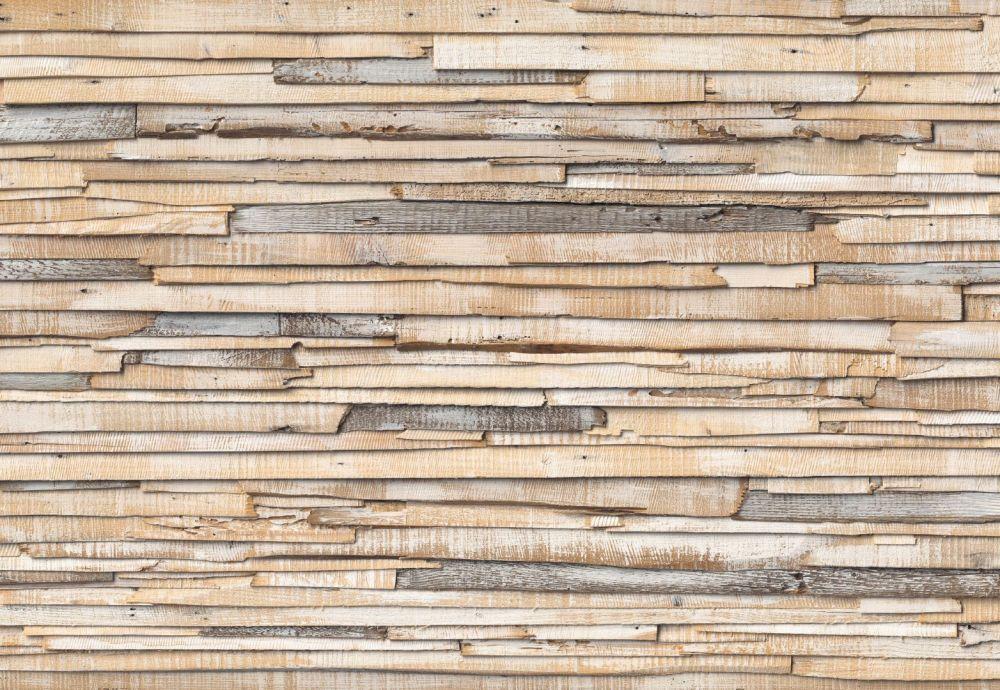 Komar Whitewashed Wood 8-920 poszter